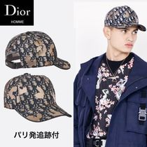 【Dior hommeパリ店】残りわずか oblique キャップ 追跡付