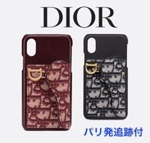 【Diorパリ店】 Saddle Dior Oblique iPhone X/XS ケース 追跡付