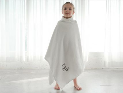 DECO VIEW キッズ・ベビー・マタニティその他 【DECO VIEW】 Penguin embroidery bath towel