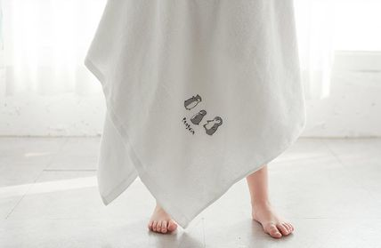 DECO VIEW キッズ・ベビー・マタニティその他 【DECO VIEW】 Penguin embroidery bath towel(2)