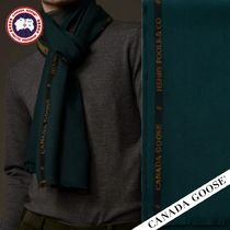 CANADA GOOSE▼ WOVEN SELVEDGE SCARF X HENRY POOLE マフラー