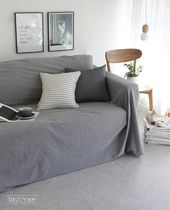 【DECO VIEW】 Simple Daily Sofa Cover