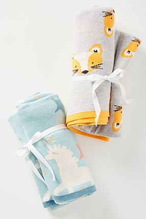 Anthropologie キッズ・ベビー・マタニティその他 Anthropologie【アンソロポロジー】Dreamland Baby Blanket(3)