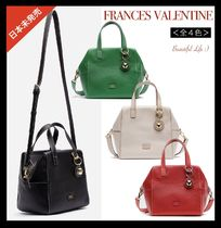 【送料込】Frances Valentine★Sabrina Satchel Tumbled Leather