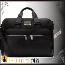 関税込◆Black nylon Patterson briefcase