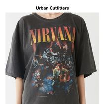 Urban Outfitters Nirvana バンド Tシャツ Black