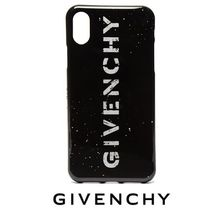 【GIVENCHY】Stencil ロゴ iPhone X ケース