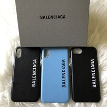 BALENCIAGA leather cover for iPhone X