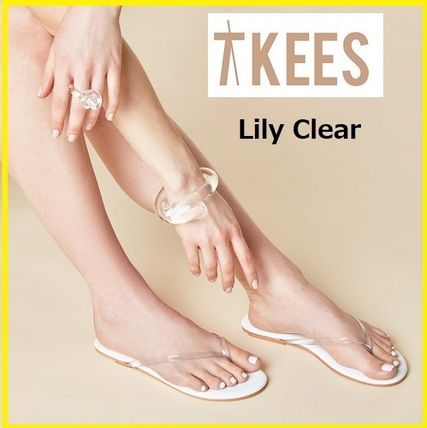 TKEES シューズ・サンダルその他 You're in the Clear(s)!Lily Clear☆TKEES