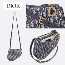 【Dior】★新作★  Saddle Pochette Dior Oblique