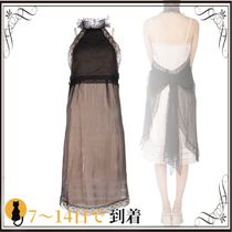 関税込◆Crede de chine and polyester dress