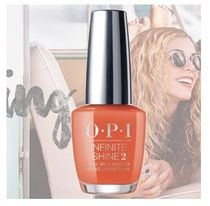 OPI  INFINITE SHINE  ISL D39 Santa Monica Beach Peach  送込