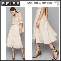 【海外限定】REISS スカート☆ULTANA LACE DETAILED MINI SKIRT