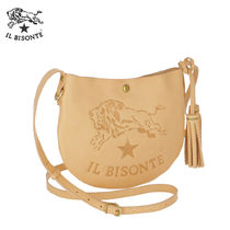 ★IL BISONTE★ ショルダーバッグ NATURALE