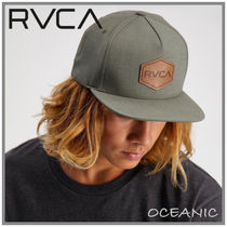 【RVCA】Commonwealth Deluxe Snapback  キャップ☆グリーン☆