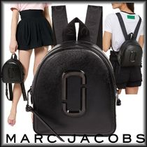 "SALE! MARC JACOBS オールブラック""THE PACK SHOT DTM BACKPACK"""