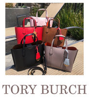 【即発】TORY BURCH◆SMALL TRIPLE-COMPARTMENT 新トート◆56249