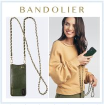 【エヴァーグリーン】Lucy Pebble Leather Crossbody Bandolier