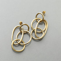 SOKO H1720003 BRASS Quad Ring Earrings リング ピアス