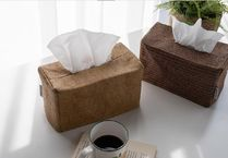 【DECO VIEW】 Four seasons rattan tissue cover