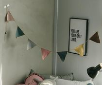 【DECO VIEW】 Linen style Garland