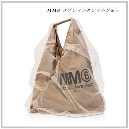 MM6☆Nude Signature Japanese Tote Bag 関税送料込み
