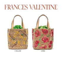 【Frances Valentine】Tall Woven Bucket Bag