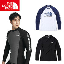 【THE NORTH FACE】 ★M'S PROTECT RASHGUARD ★ 3色/追跡付