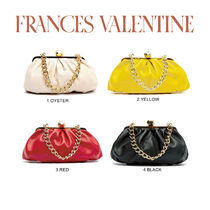 【Frances Valentine】Zelda Frame Bag Nappa Leather Red