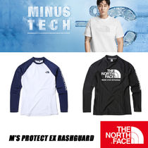 【THE NORTH FACE】 ★M'S PROTECT EX RASHGUARD★ 2色