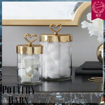 大人気!Pottery Barn Emily & Meritt Beauty Jars 2本セット