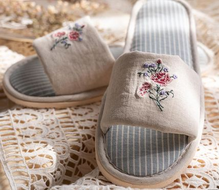 DECO VIEW ライフスタイルその他 【DECO VIEW】 Flower embroidery slippers(3)