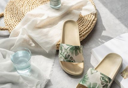 DECO VIEW ライフスタイルその他 【DECO VIEW】 Resort Look Office slippers(4)