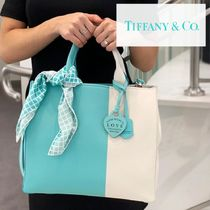 《Tiffany&Co》Tiffany Color Block マイクロ トートバッグ 2way