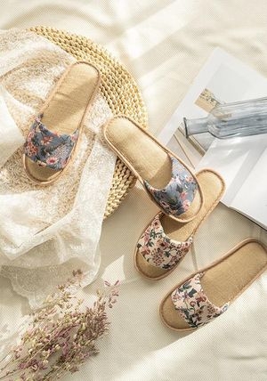 DECO VIEW ライフスタイルその他 【DECO VIEW】 Marian flower slippers
