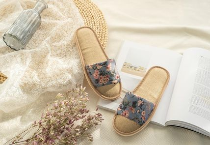 DECO VIEW ライフスタイルその他 【DECO VIEW】 Marian flower slippers(2)
