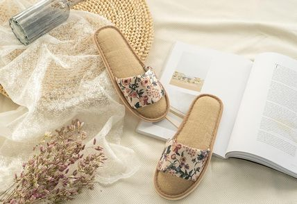 DECO VIEW ライフスタイルその他 【DECO VIEW】 Marian flower slippers(3)