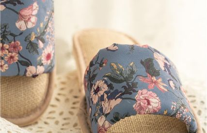 DECO VIEW ライフスタイルその他 【DECO VIEW】 Marian flower slippers(5)