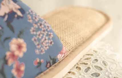 DECO VIEW ライフスタイルその他 【DECO VIEW】 Marian flower slippers(6)