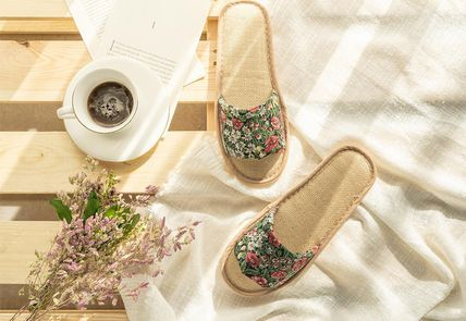 DECO VIEW ライフスタイルその他 【DECO VIEW】 Loppe flower slippers