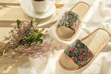 DECO VIEW ライフスタイルその他 【DECO VIEW】 Loppe flower slippers(2)