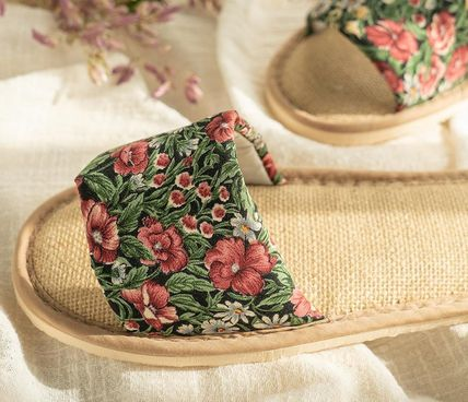 DECO VIEW ライフスタイルその他 【DECO VIEW】 Loppe flower slippers(3)