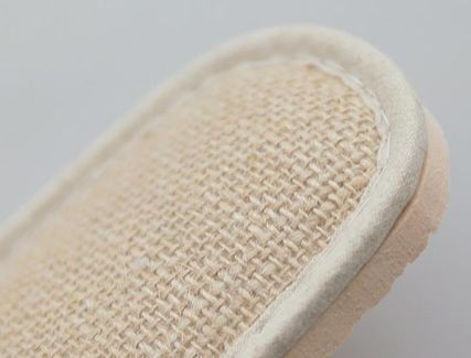 DECO VIEW ライフスタイルその他 【DECO VIEW】 Natural Embroidery slippers(8)