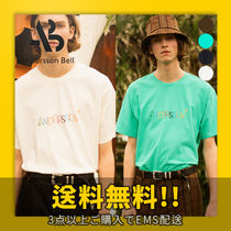 ★ANDERSSON BELL★ UNISEX KITSCH EMBROIDERY T-SHIRT_atb303u