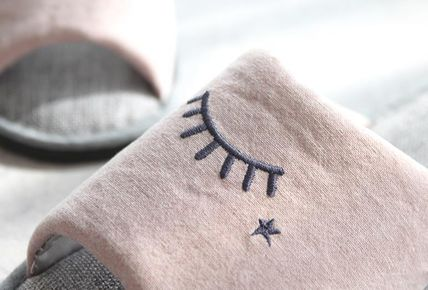 DECO VIEW ライフスタイルその他 【DECO VIEW】 Embroidery slip slippers(4)