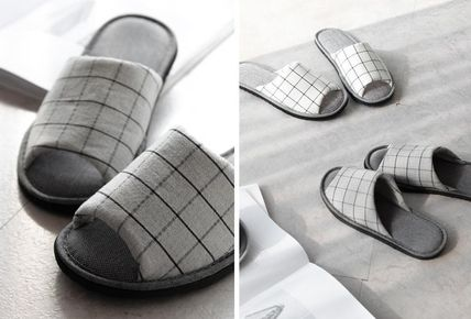 DECO VIEW ライフスタイルその他 【DECO VIEW】 Basic check slippers(2)