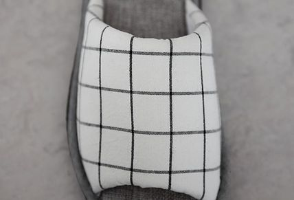 DECO VIEW ライフスタイルその他 【DECO VIEW】 Basic check slippers(3)