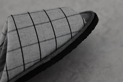 DECO VIEW ライフスタイルその他 【DECO VIEW】 Basic check slippers(4)