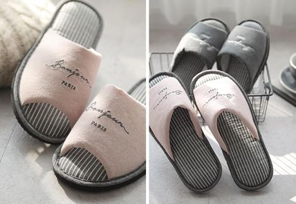 DECO VIEW ライフスタイルその他 【DECO VIEW】 Washing typo embroidery slippers(2)
