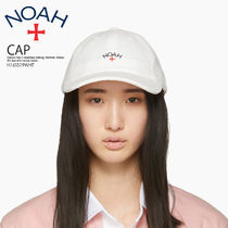 即納*日本未入荷★NOAH NYC★TERRY LOGO 6-PANEL CAP*H16SS19WHT